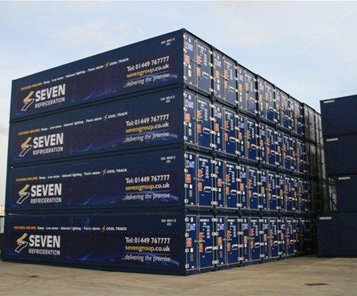 Seven Refrigeration unit graphics