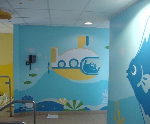 Children's hospital installation