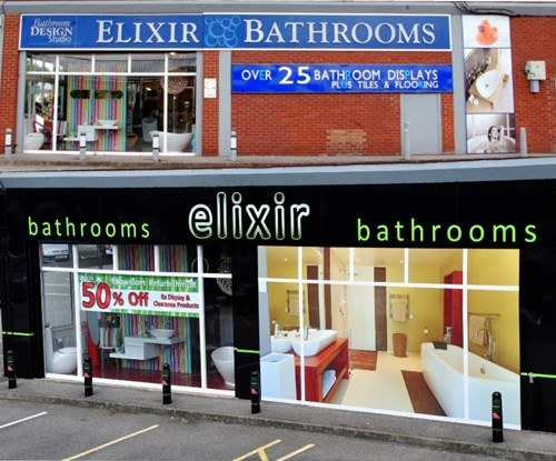 Elixir Bathrooms before and after