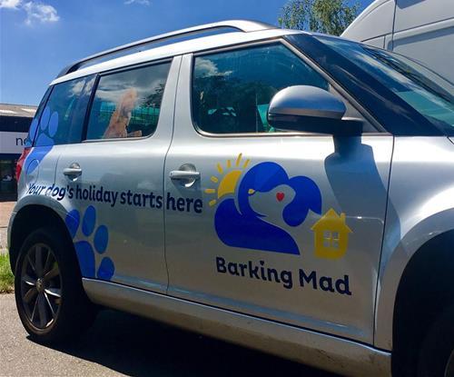 Barking Mad vehicle livery