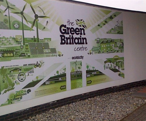 Interior signs for Ecotricity