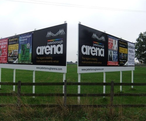 Sign boards created by Signs Express Peterborough