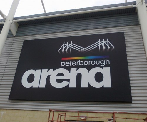 Exterior sign installed by Signs Express Peterborough