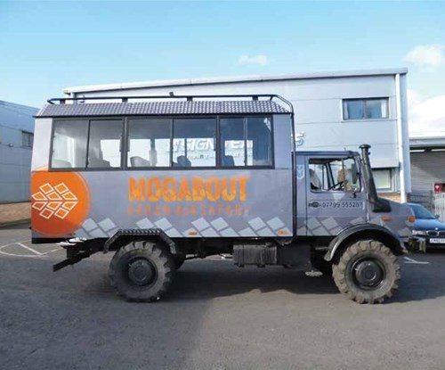 Unimog vehicle graphics