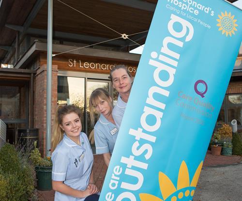 Pull Up Promotional Banner for St Leonards Hospice