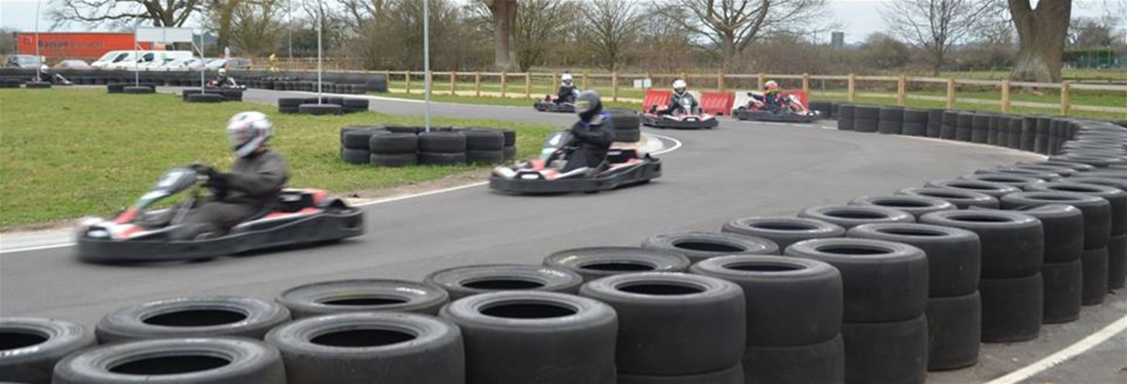 Signs Express Bournemouth karting event