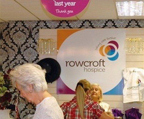 Rowcroft interior shop sign