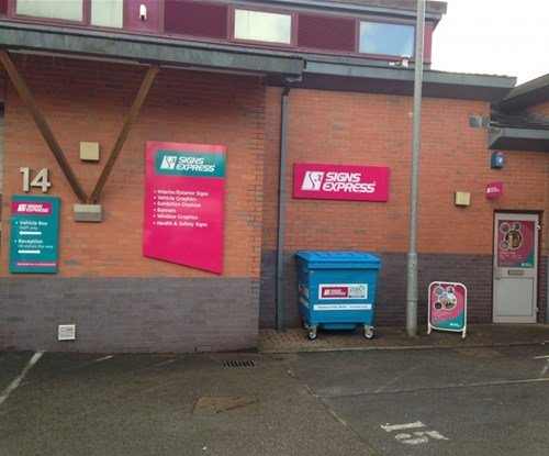 Signs Express (Plymouth) Company Refresh