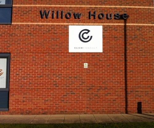 Exterior building sign