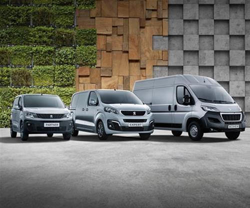 Peugeot UK Van signwriting offer