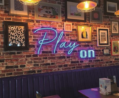Neon Interior Signage Cardiff