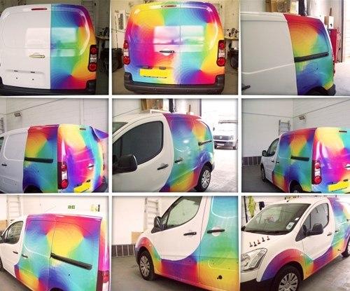 Van wrap for Dexter Decorative Supplies Ltd