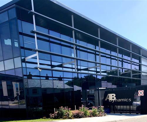 AB Dynamics Front Windows with 3M Solar Control Film
