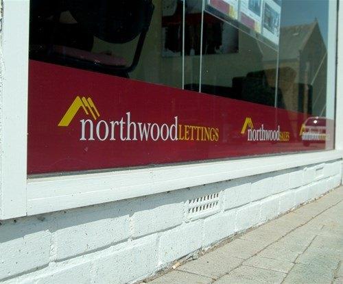 Northwood UK window graphics