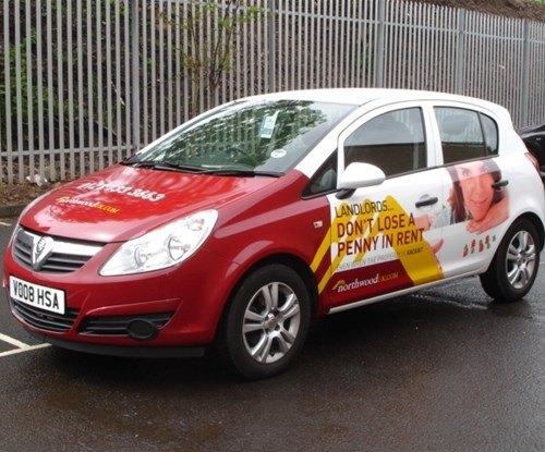 Northwood UK fleet vehicle graphics