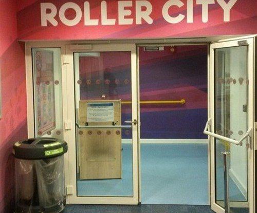 RollerCity entrance gets a make-over