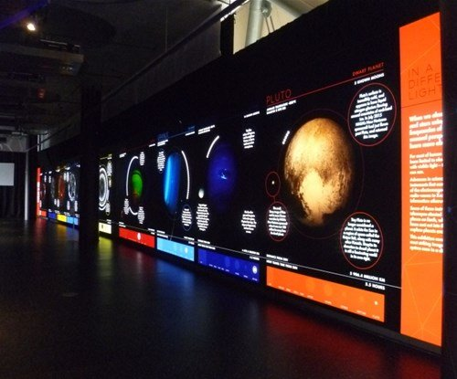 Impressive illuminated signs