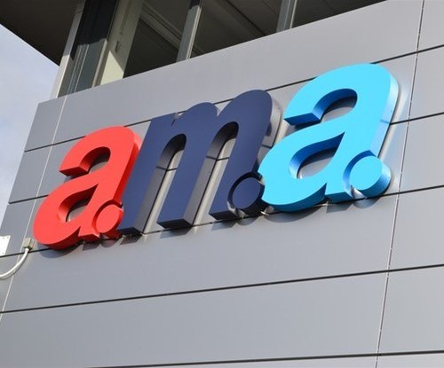 AMA Exterior sign