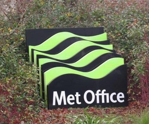 Met Office - main sign