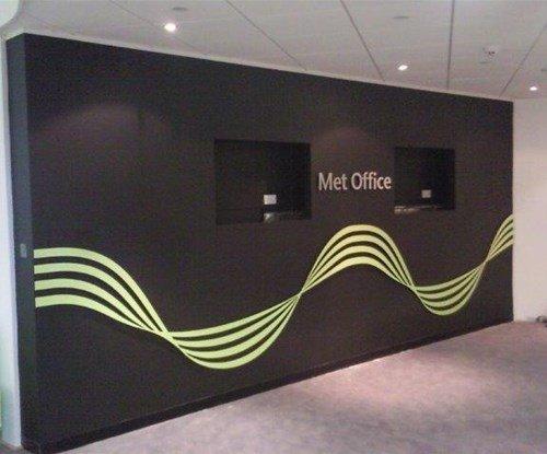 Met Office - vinyl wall graphics
