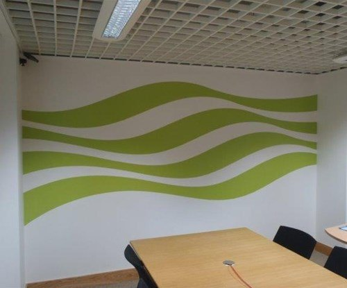 Met Office - meeting room wall graphics