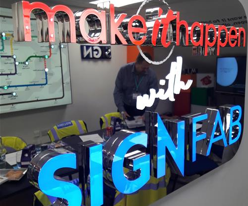 The Make it Happen sign