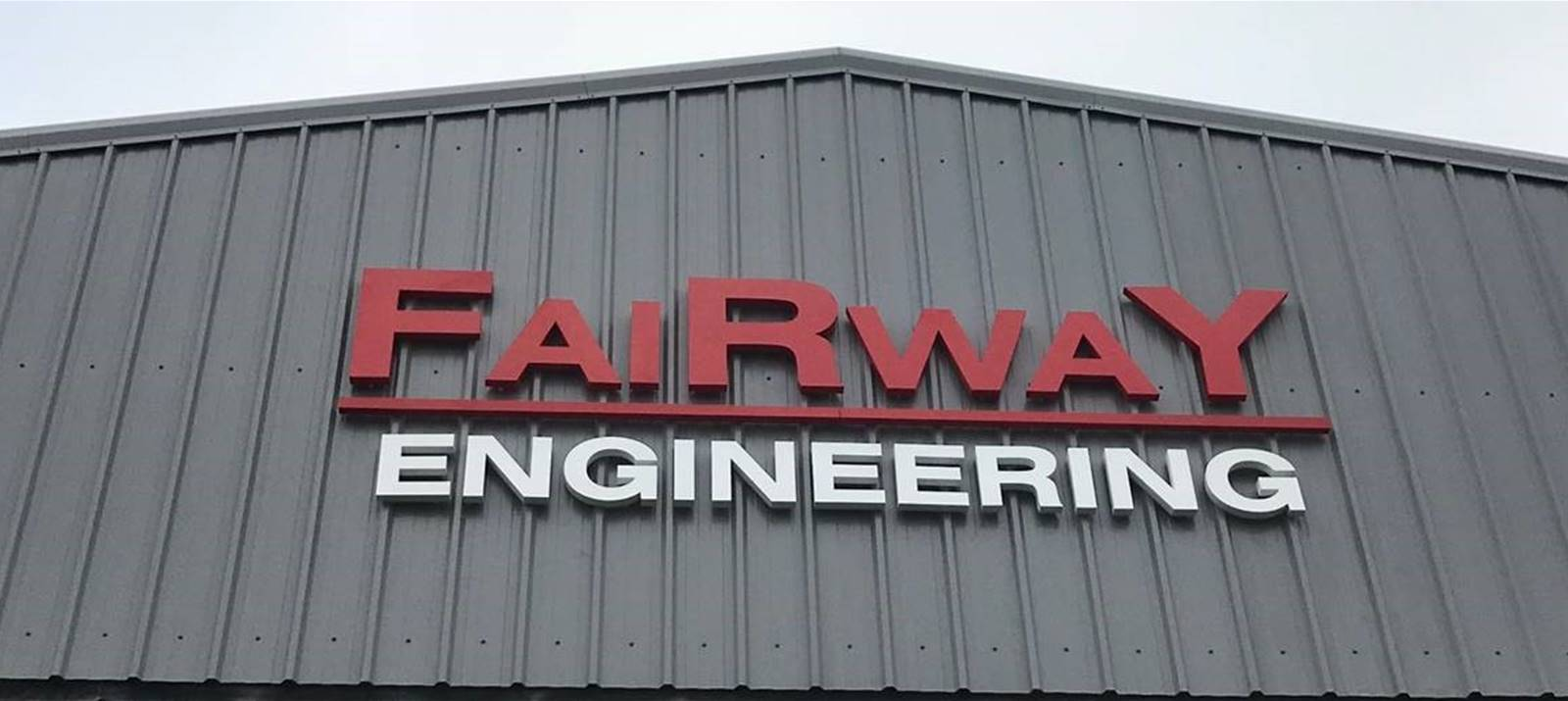 Fairway Engineering Built-up Lettering