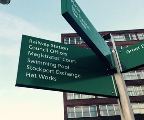 City Centre Signage Project Management