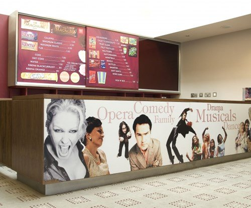 Norwich Theatre Royal point of sale displays