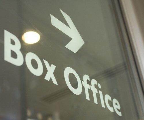Norwich Theatre Royal box office window graphics