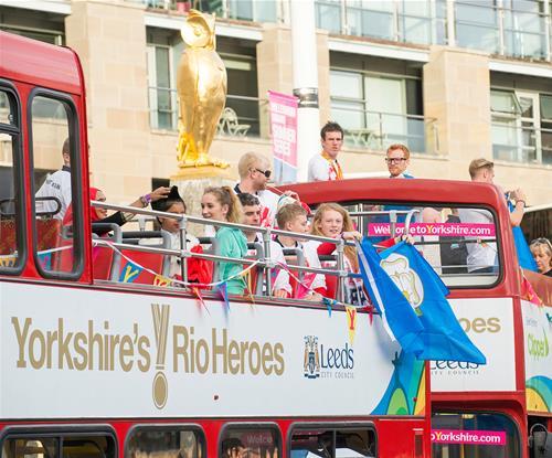 Rio welcome home parade