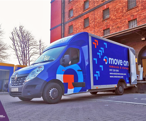 Van graphics for Move On Removal