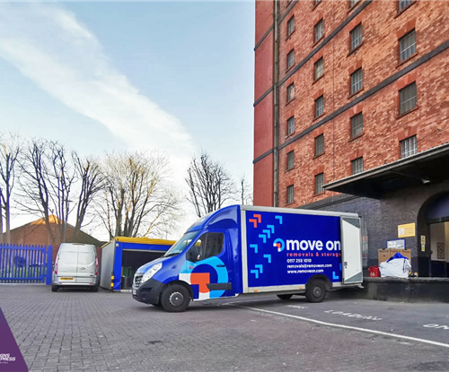 Van Wrapping for Move On Removals