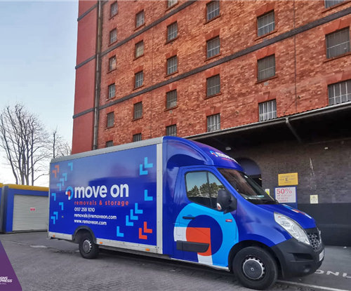 Signs Express Bristol Van Wrapping for Move On Removals