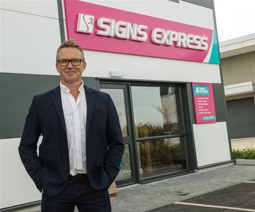 Rod Clark, Owner of Signs Express (Salisbury)