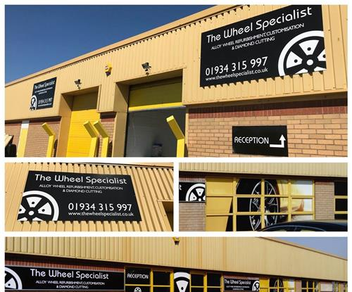 The Wheel Specialist Signage
