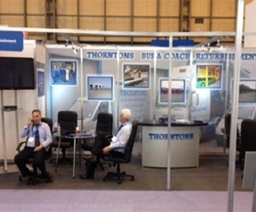 A successful exhibition for a leading North East company