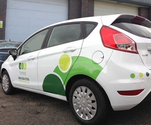 New fleet of vehicle graphics for Forrest Ltd