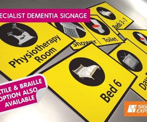 Signs Express (Central Lancashire) launch new Dementia Signage Range