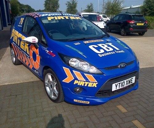 Full colour vehicle graphics for Pirtek