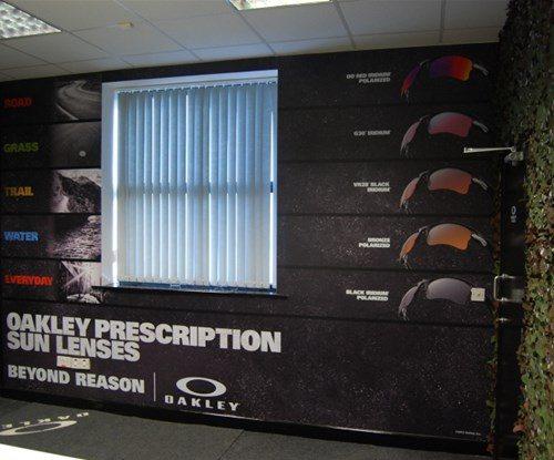 Oakley office wallpaper