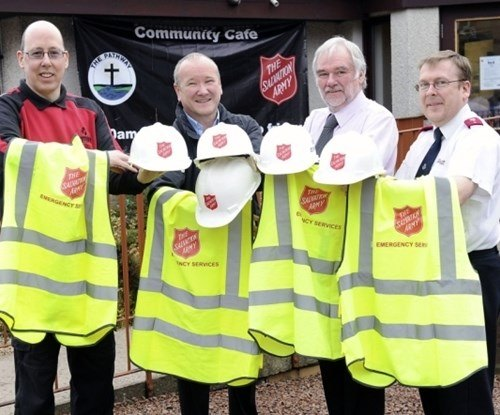 Falkirk Salvation Army is helped to be ready for emergencies