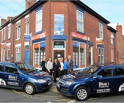 Blue i Properties re-brand