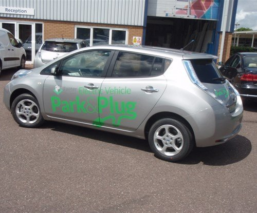 Vehicle graphics by Signs Express Exeter