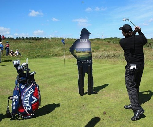 Phil Mickelson standee