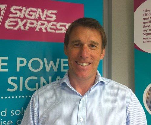 Ian Dawson from Signs Express (York)