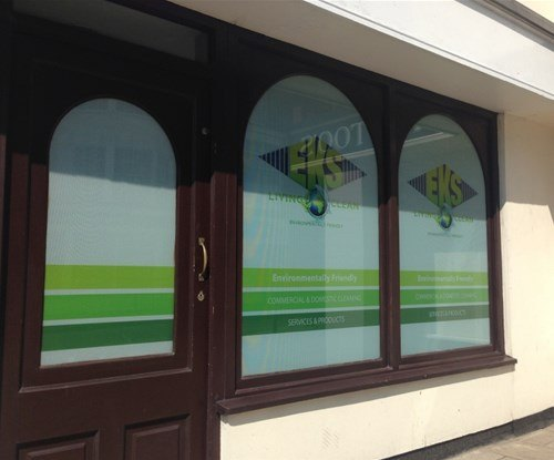 One-way vision film installed by Signs Express Norwich