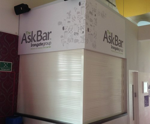 the Ask bar