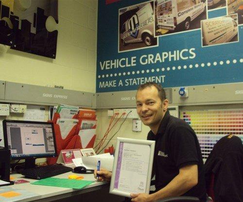 Matt Clements Signs Express (Plymouth)