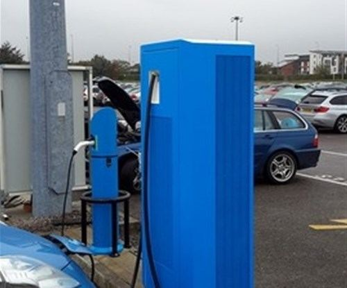 BMW Charger Points